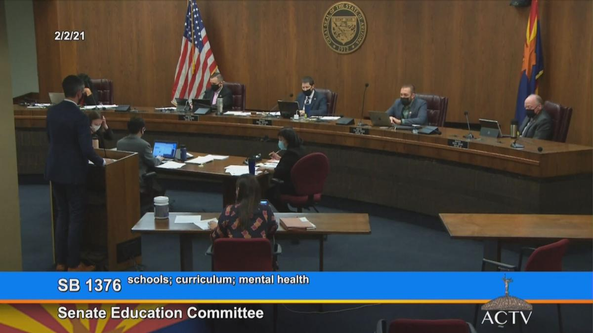 Senate Education Committee discusses Senate bill 1376