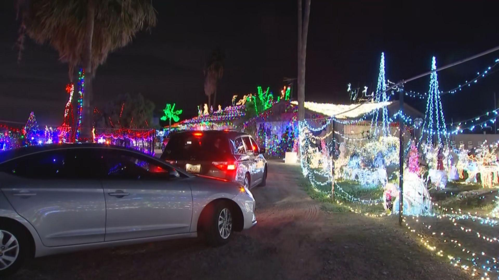 Christmas Lights On 51st & Baseline 2020 Laveen couple completes holiday light display after starting in