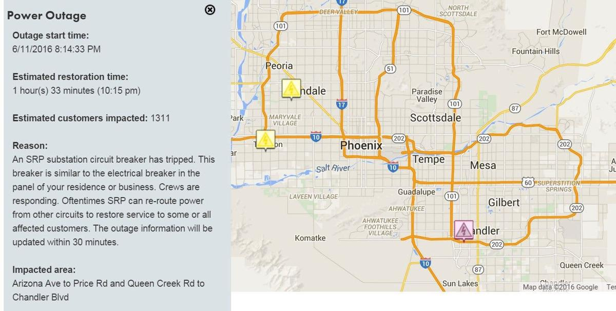 Power Steadily Being Restored After Aps Srp Outages Azfamily Com