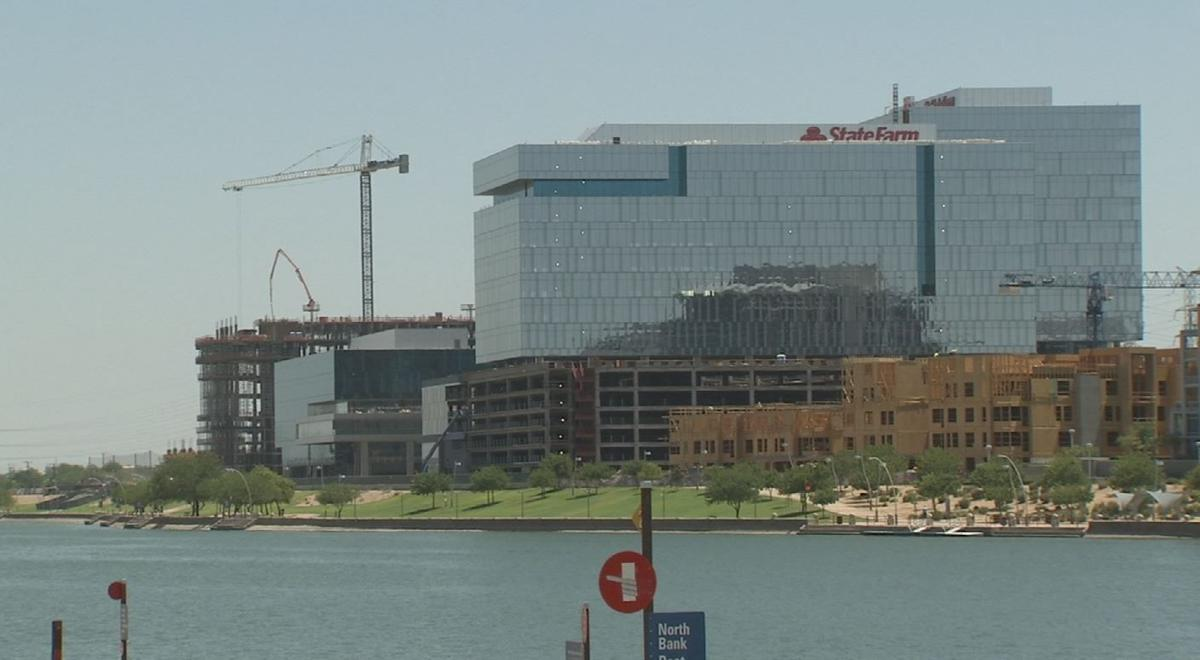 Tempe, SE Valley dominate new office construction, white collar jobs