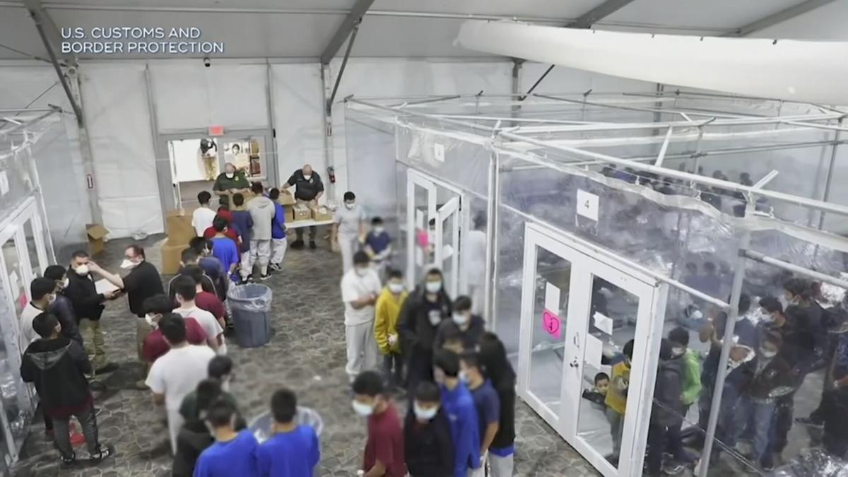 Migrants in camps