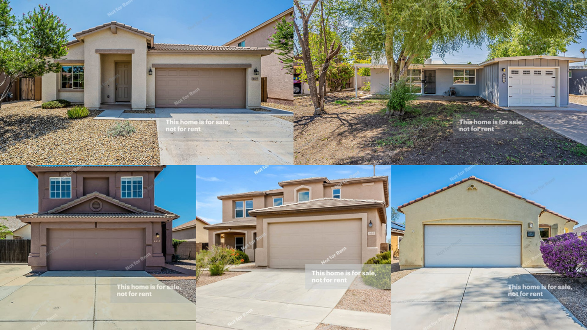 5 captivating homes under $450K in the Phoenix area
