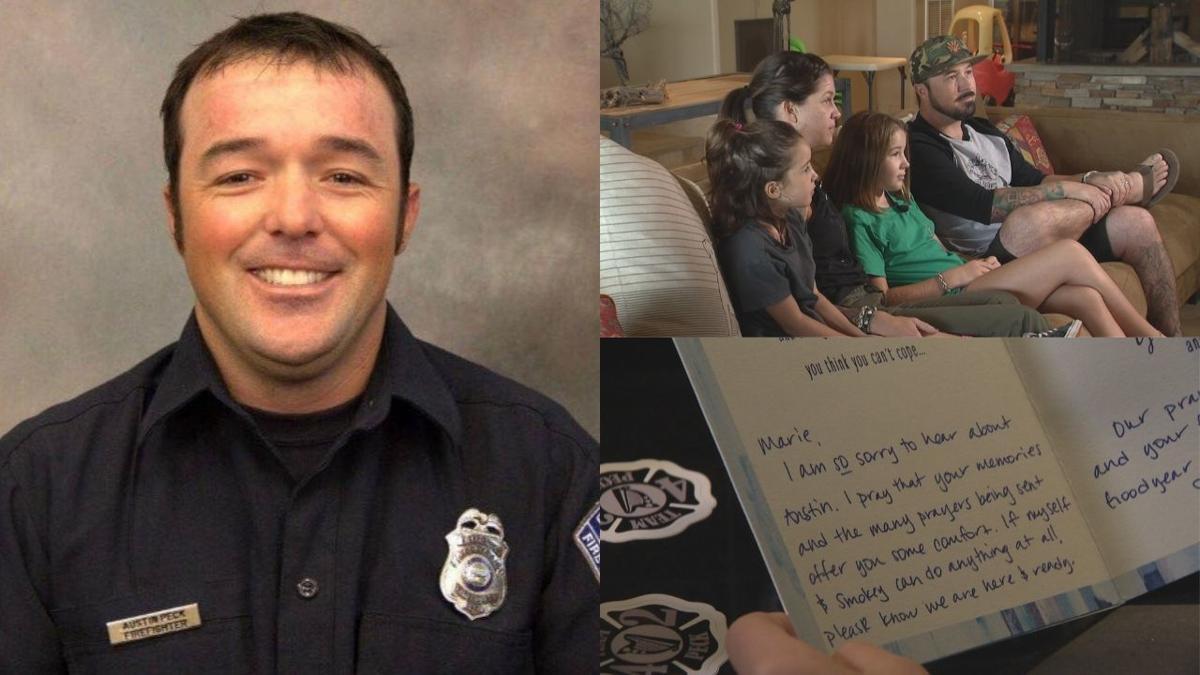 Former Goodyear firefighter's family speaks out for first time since his death
