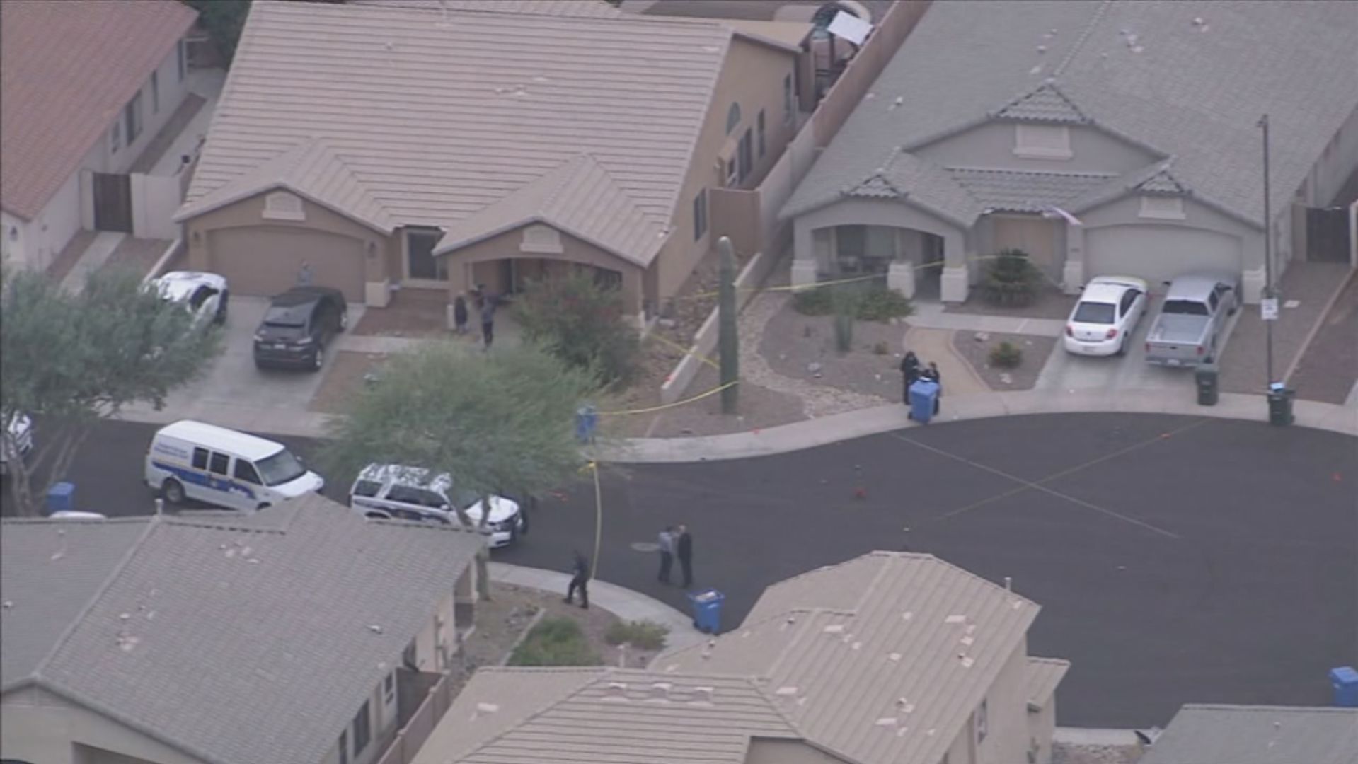 Phoenix PD shoot, kill domestic violence suspect after woman killed, boy injured