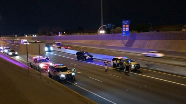Person struck, killed by vehicle on I-17 in Phoenix