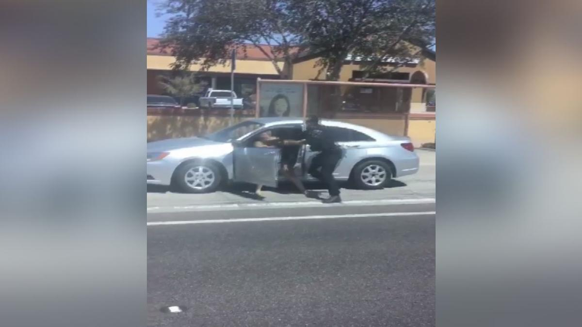 Caught on camera: Goodyear PD officer punches woman during arrest