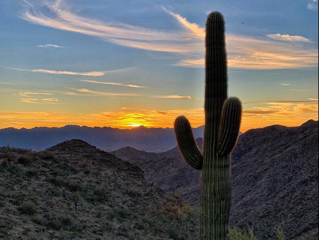 Sunsets - South Mountain Park in Phoenix
