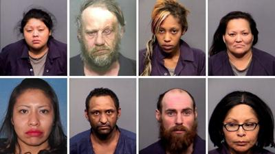 Operation Riptide Mugshots
