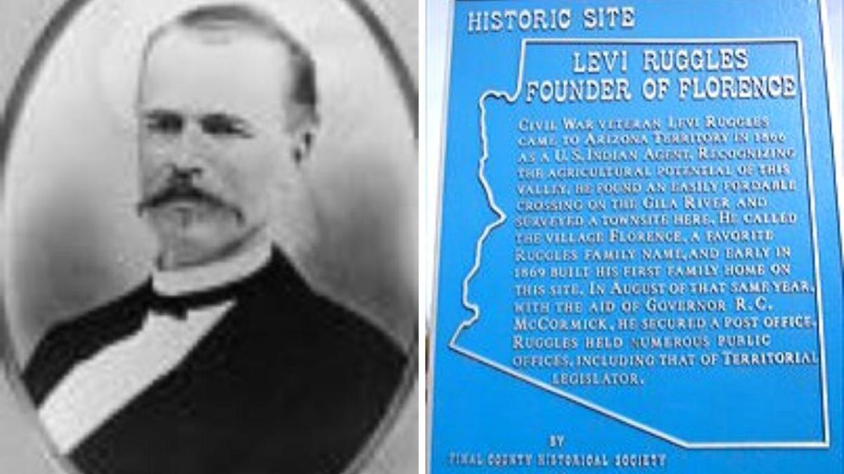 Founder of Florence, Levi Ruggles
