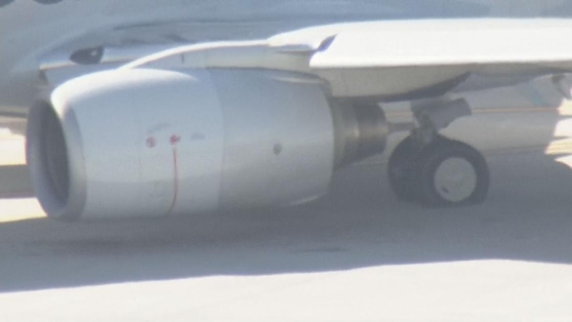 Blown tire grounds American Airlines flight at Phoenix Sky Harbor Airport
