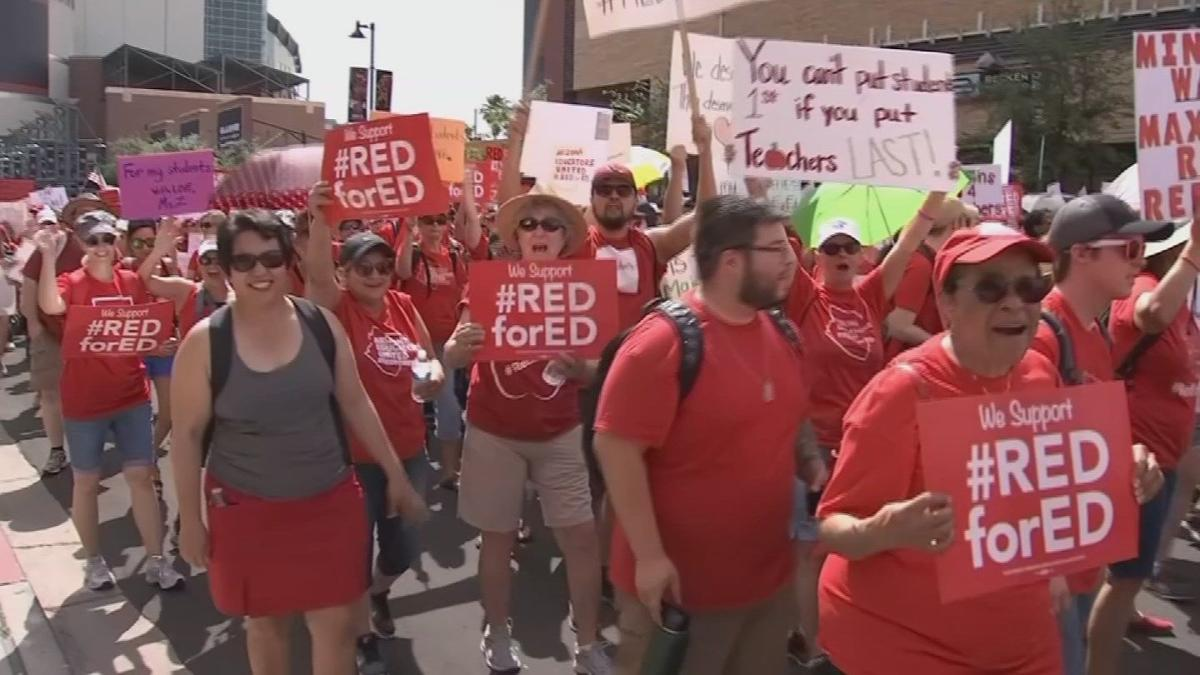 Arizona teachers hope to move from the classroom to the Capitol