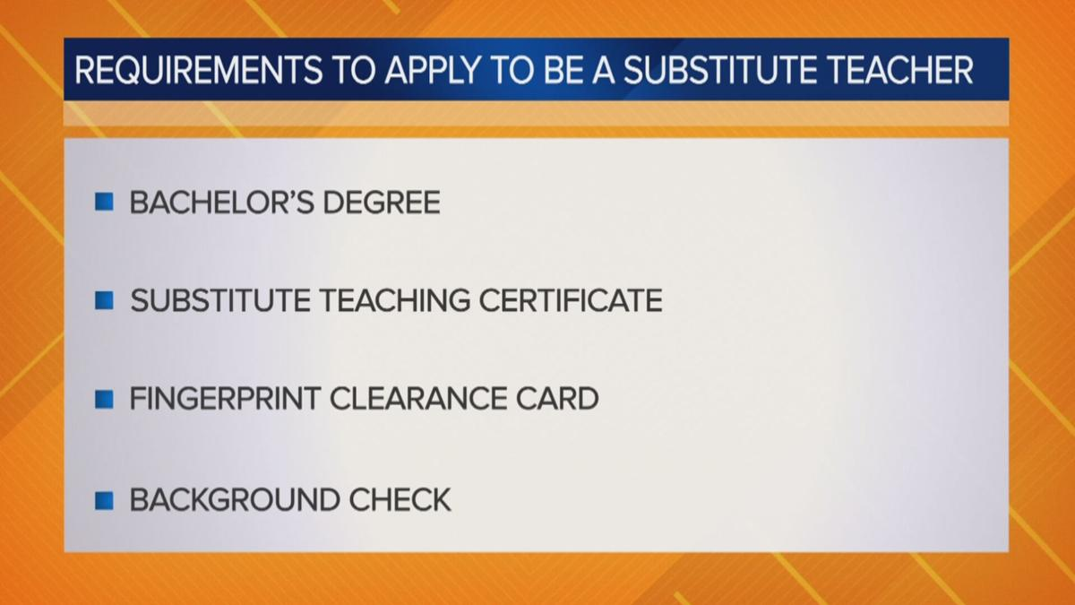 Requirements to apply to be a substitute teacher in Arizona