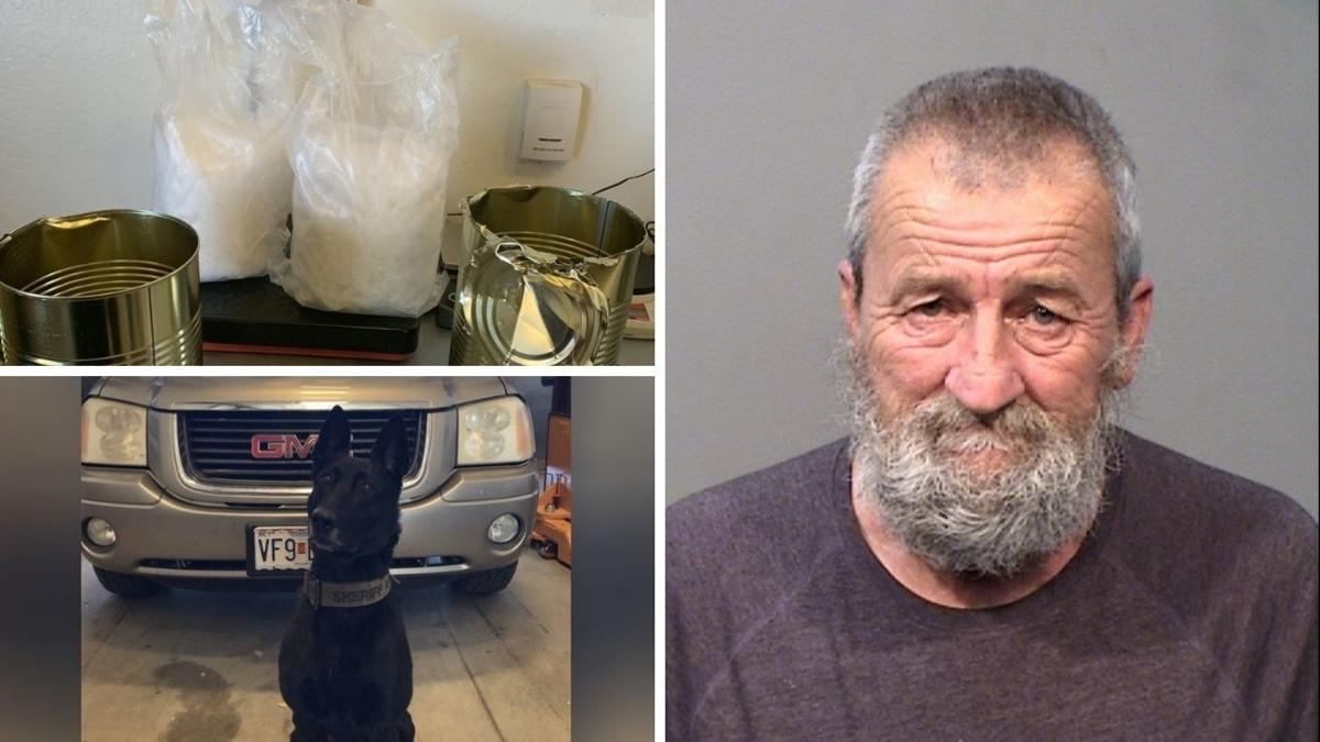 Yavapai Sheriff K9 sniffs out cache of drugs