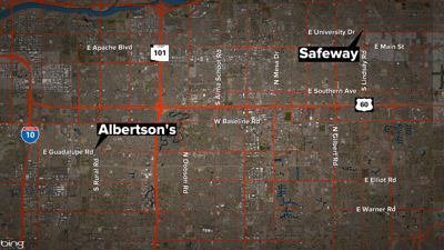 Safeway, Albertsons closing two stores in Tempe, Mesa