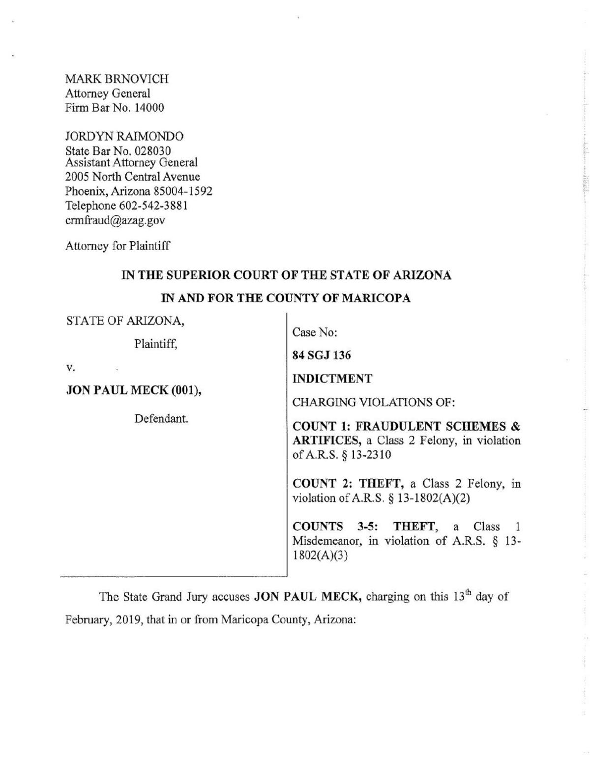 PDF: Indictment of Jon Meck