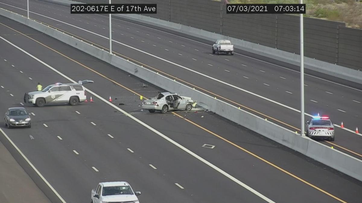 Multiple injured in serious crash on the Loop 202 South Mountain