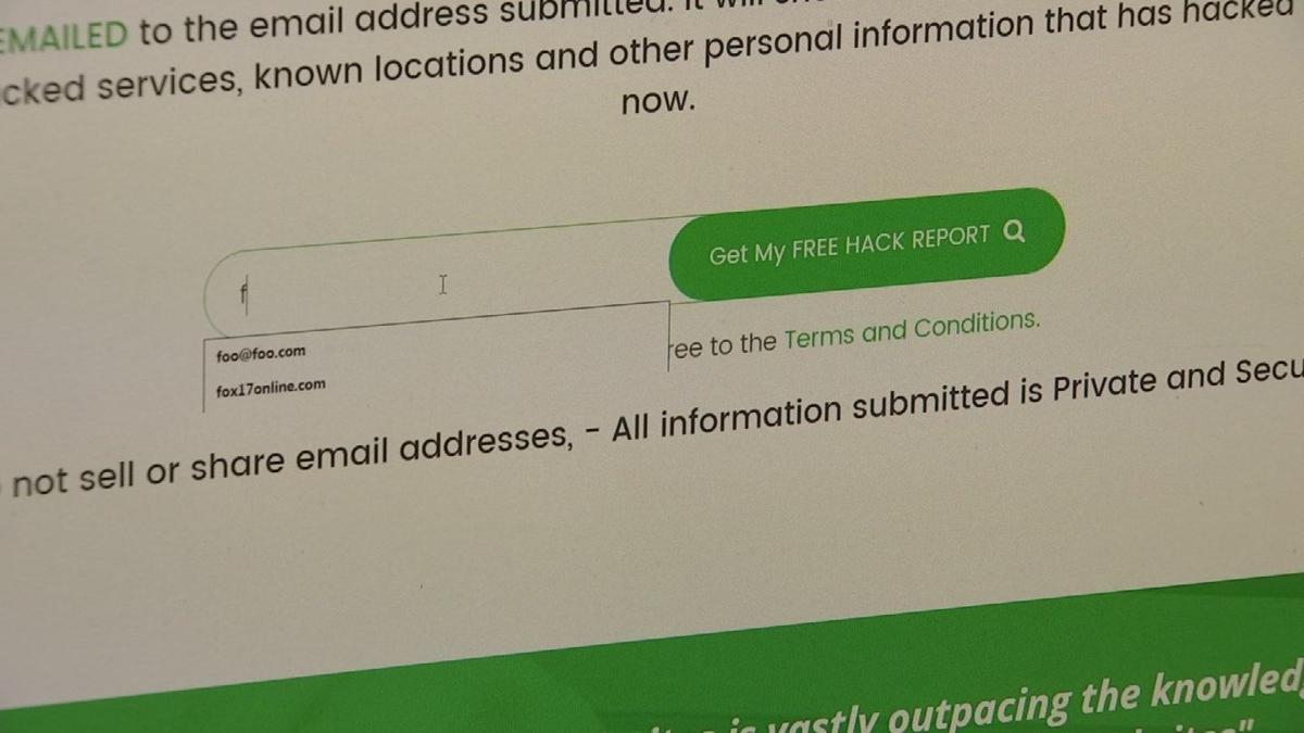What do hackers know about you? AZ company will tell you for free
