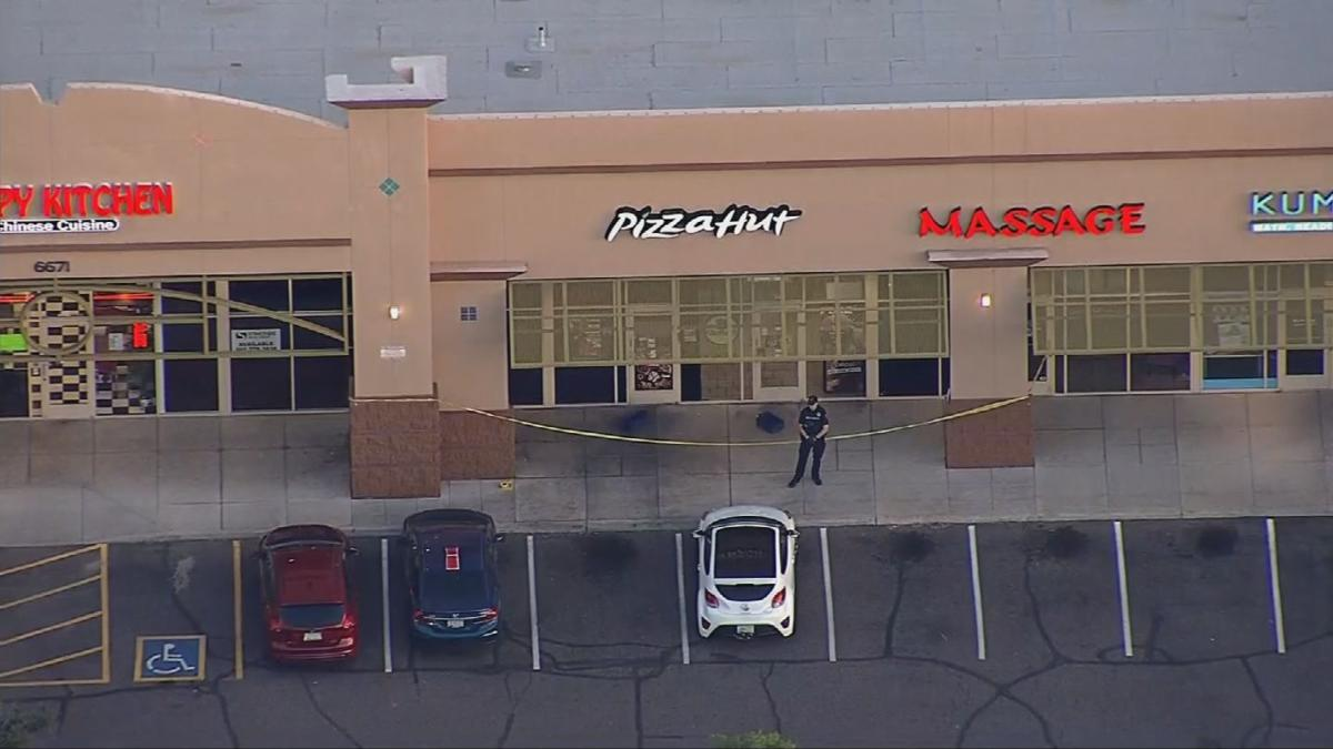 Pizza Hut attempted robbery