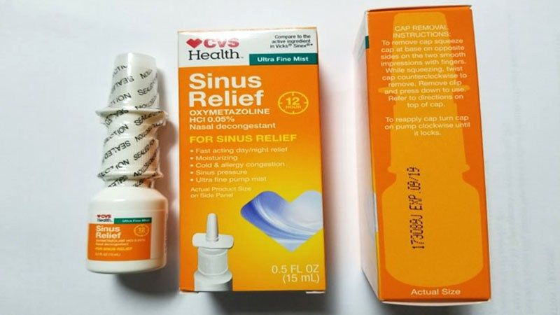 CVS expands nasal spray recall due to microbiological contamination