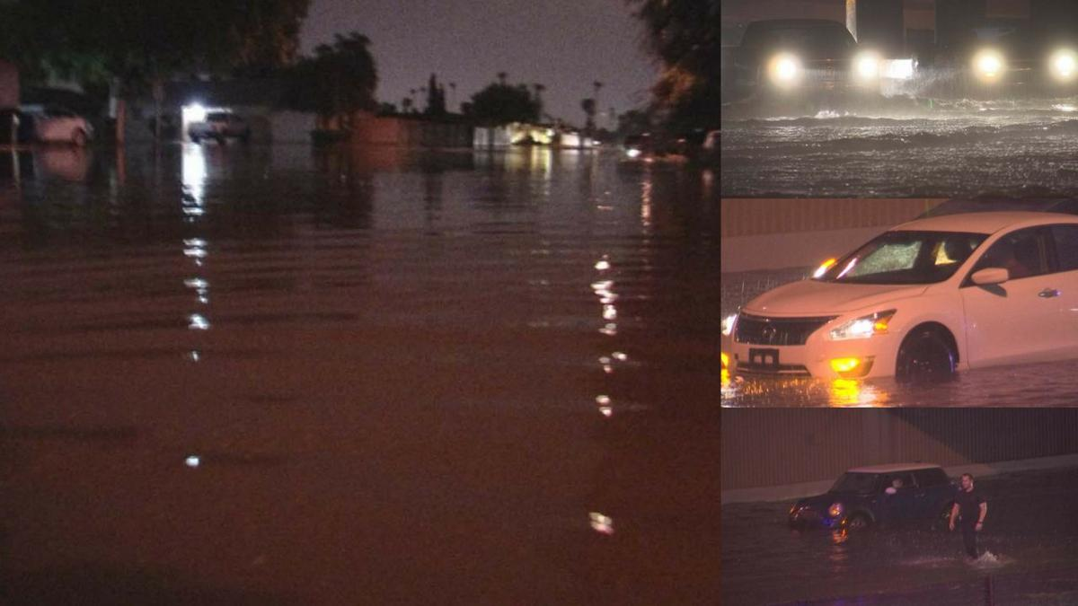 PHOTOS: Massive flooding caused by monsoon storm in Phoenix area