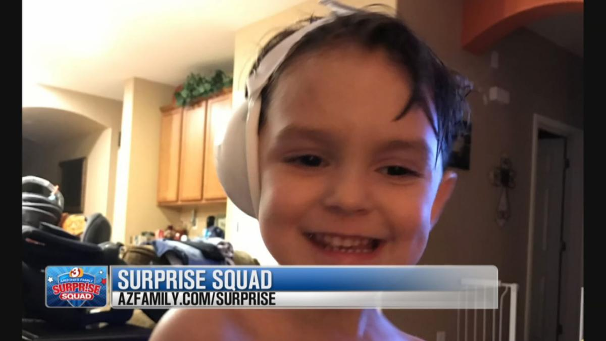 Surprise Squad: Gilbert mother gets help for son's hearing loss due to MRSA