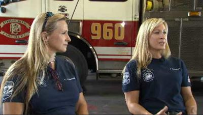 Mother and daughter Phoenix firefighters