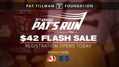 Pat's Run flash sale
