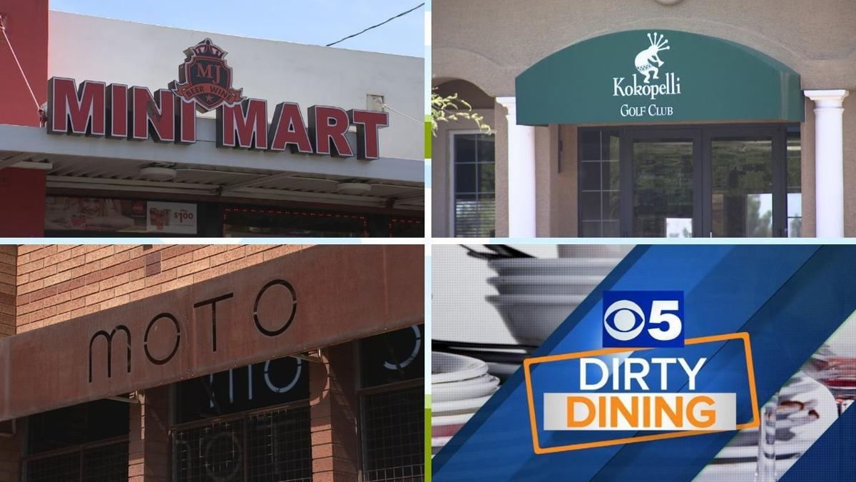 Dirty Dining June 7: Here are the Valley restaurants that did not make the grade