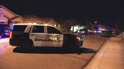 PCSO working an officer-involved shooting in San Tan Valley