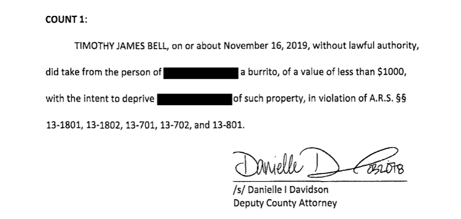 Court documents Timothy Bell