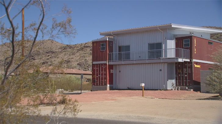 Awesome Shipping Container Home About To Hit Market In South Phoenix Home Remodeling Inspirations Propsscottssportslandcom