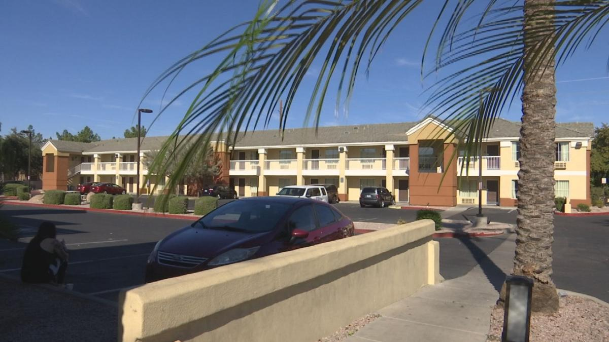 The urn was found at The Extended Stay America near Sky Harbor in Phoenix