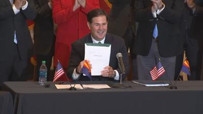 Gov. Doug Ducey signs gaming bill
