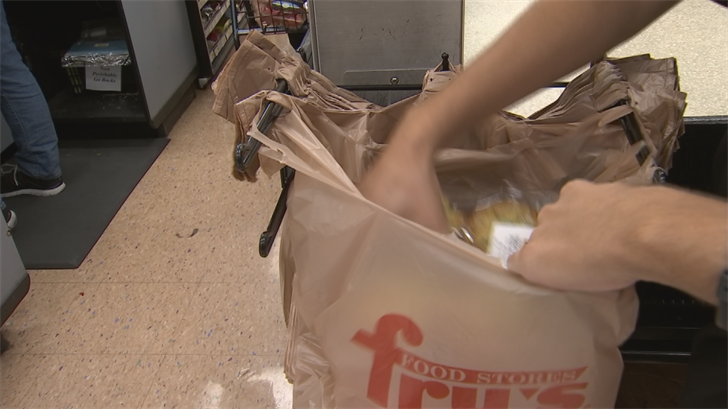 Fry's to eliminate plastic bags, recycling plant hopes for relief