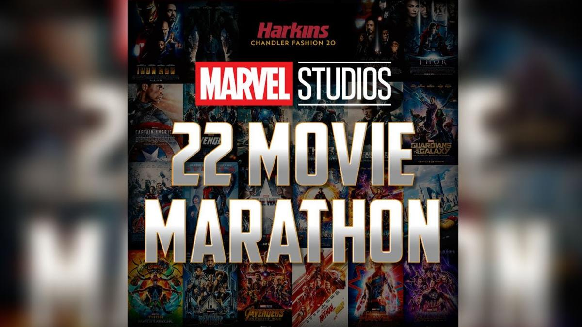 Harkins Theaters hosting 48-hour Marvel movie marathon in Chandler