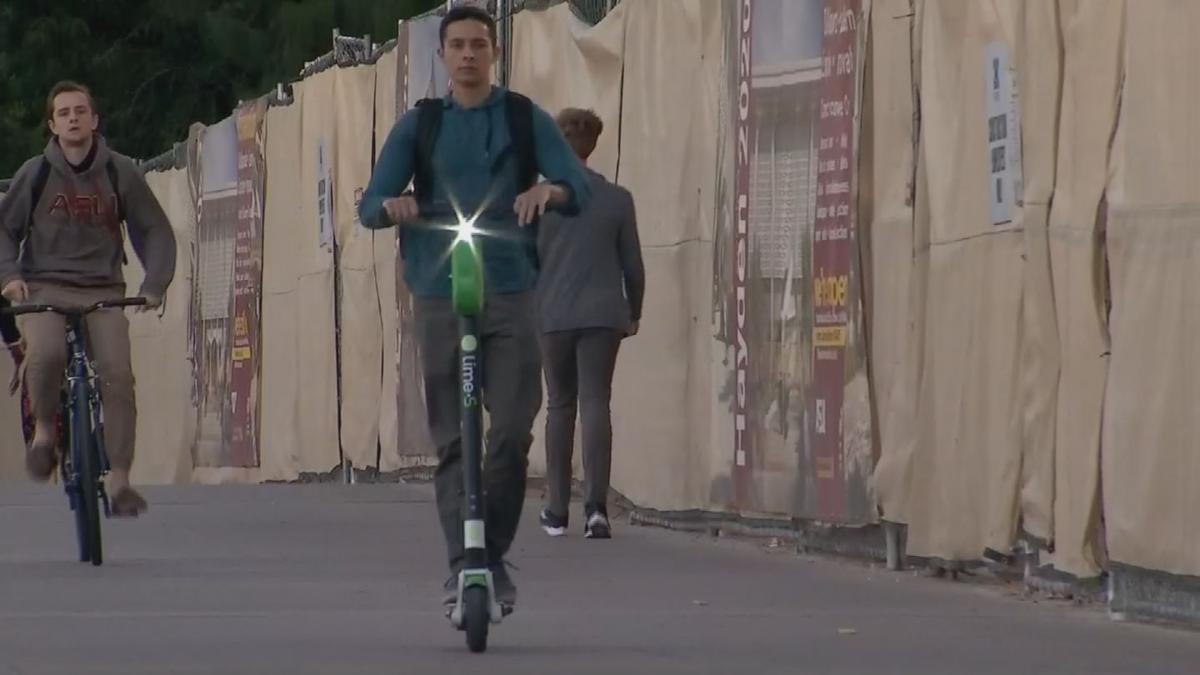 ASU is cracking down on electric scooters on campus
