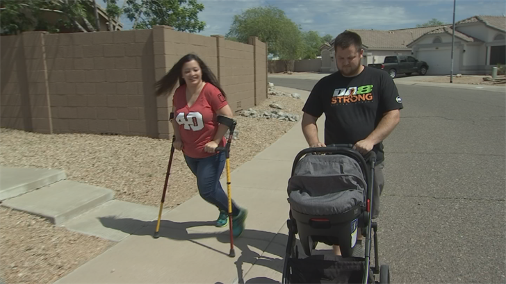 Valley mom with cerebral palsy set to finish fourth Pat's Run