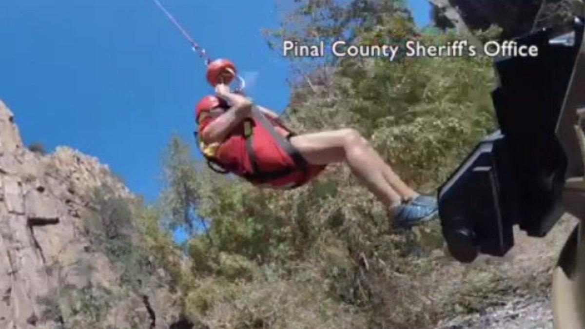 16 hikers rescued after flash flooding in Aravaipa Canyon