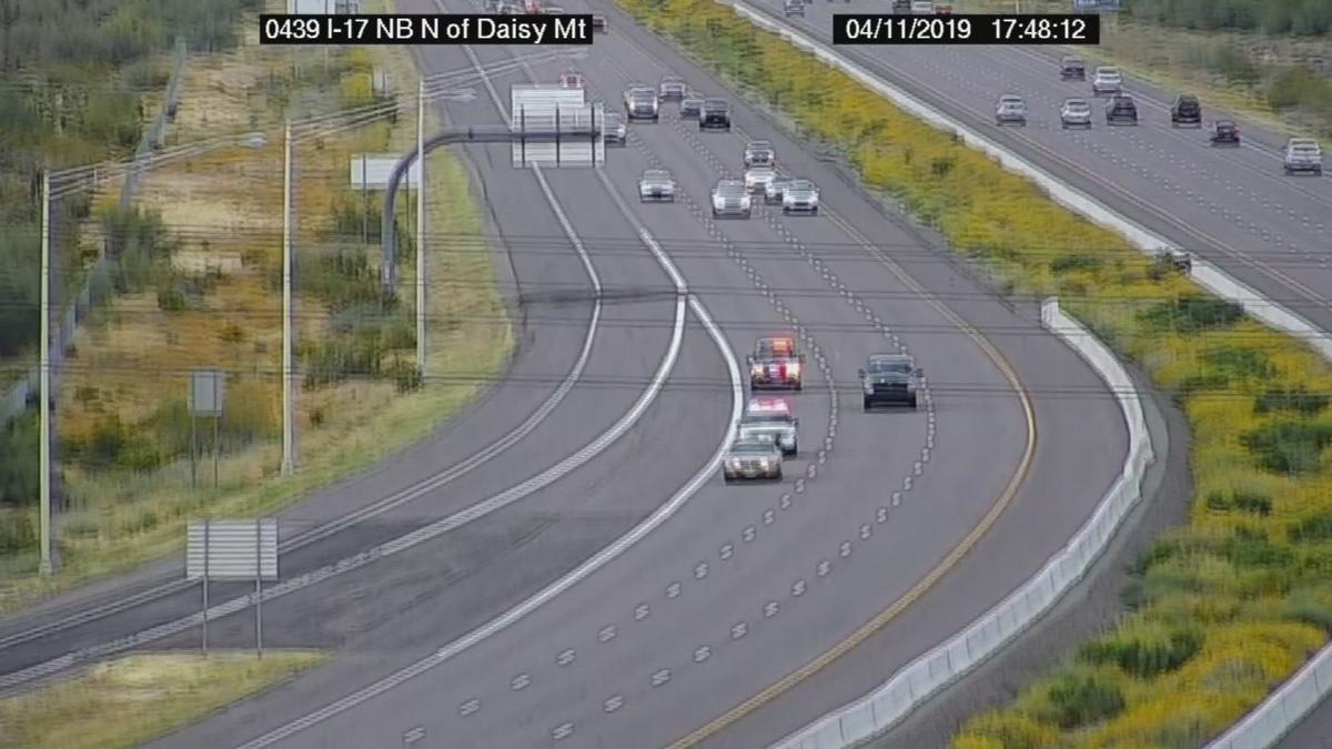 Interstate 17 chase near Anthem
