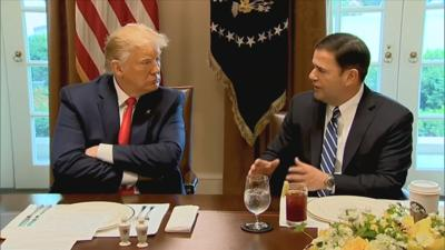 Gov. Doug Ducey at the White House