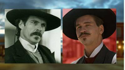 22df5ce211468 Ex-movie gunslingers Quaid and Kilmer to visit Tombstone