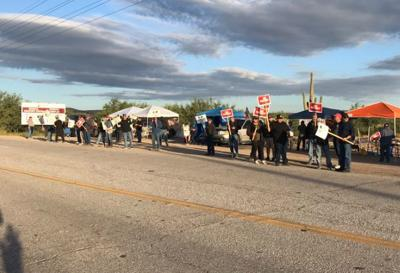 Asarco mine workers go on strike in Arizona, Texas