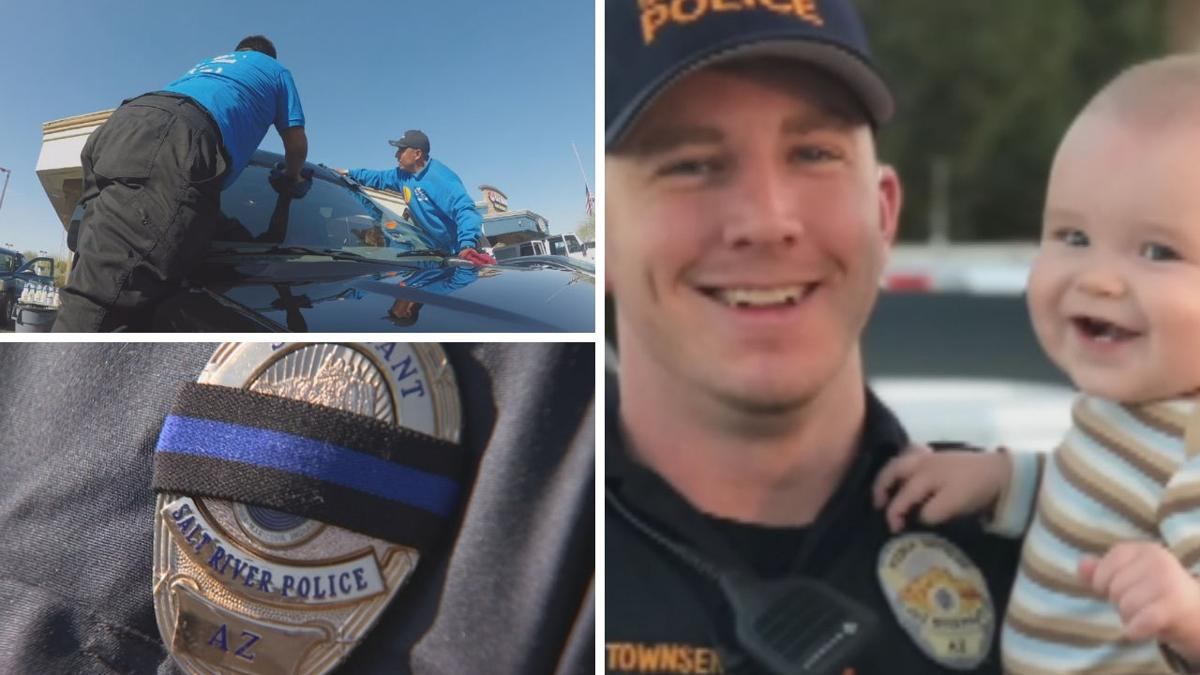 Fundraiser brings in over $15,000 for fallen officer Clayton Townsend