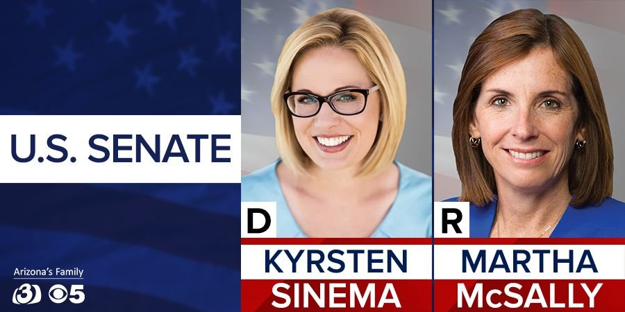 Image result for photos of Kyrsten Sinema and martha mcSally