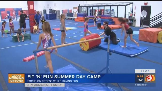Extreme fitness camp for kids underway in Scottsdale