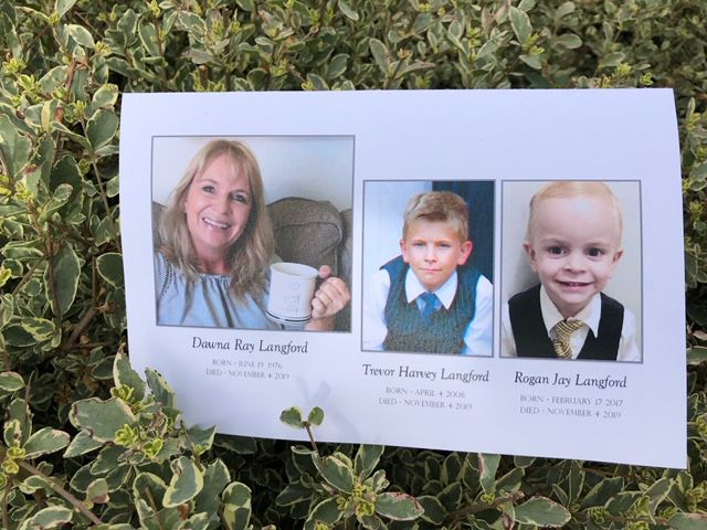 Funeral services for Langford family