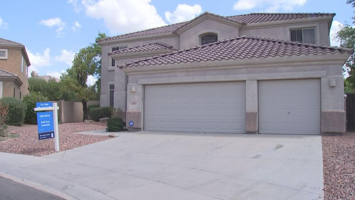 Squatters reported Opendoor home for sale in Chandler