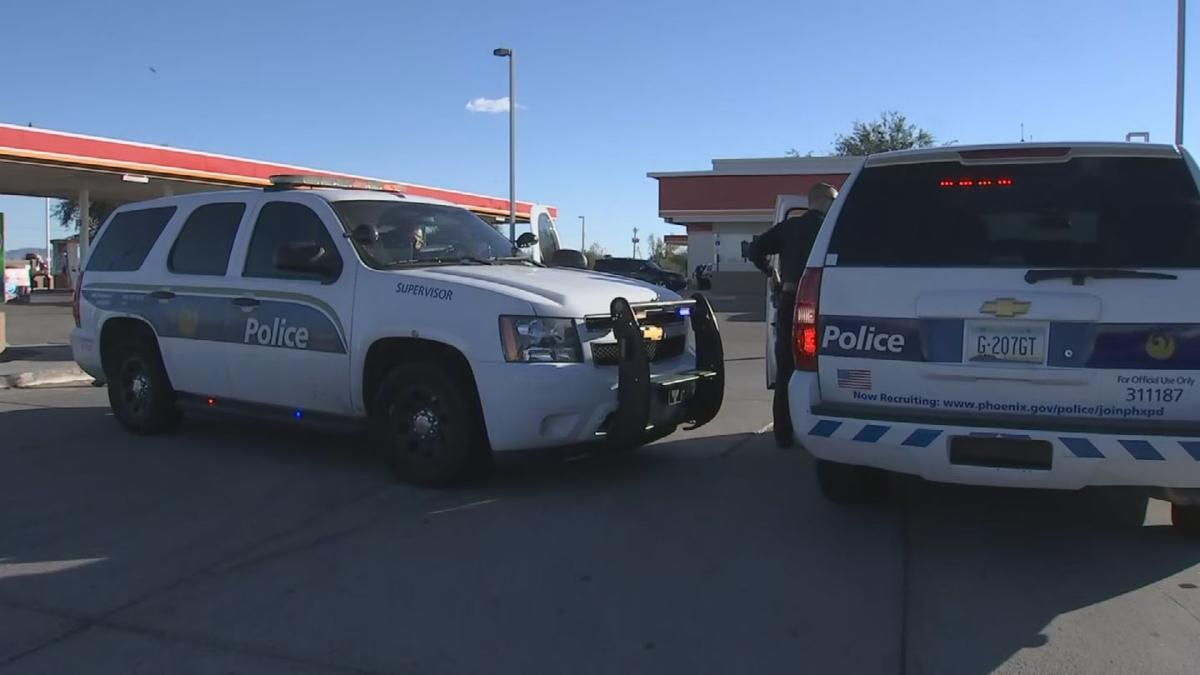 Police say four men were involved in a violent crime spree Friday
