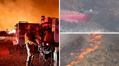 Telegraph and Mescal Fires