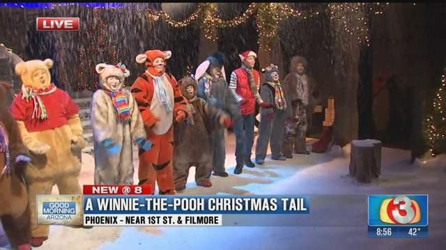 a winnie the pooh christmas tail turns 22 yrs old at valley youth theatre good morning arizona azfamilycom - A Christmas Tail